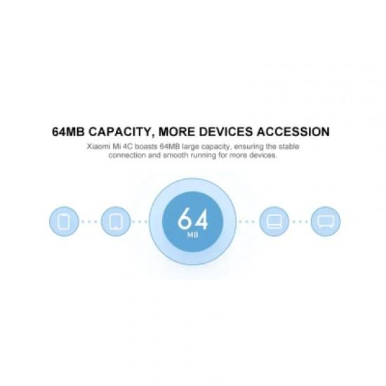 Xiaomi Mi Router 4C 2.4GHz 300Mbps 64MB capacity Four 5dBi Antennas Wireless App Smart Management Gl